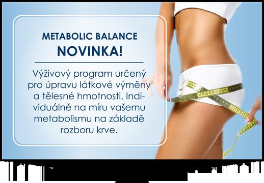 Výživový program určený pro úpravu látkové výměny a tělesné hmotnosti
