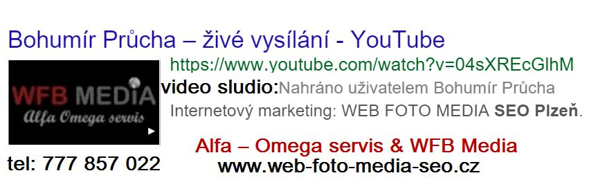 internetový marketing Plzeň - video studio
