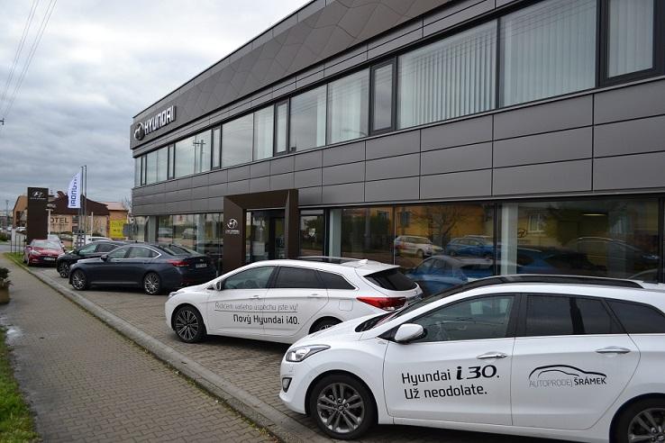 Hyundai Plzeň Autoprodej Šrámek