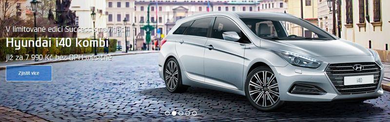 Hyundai Plzeň I 40 kombi