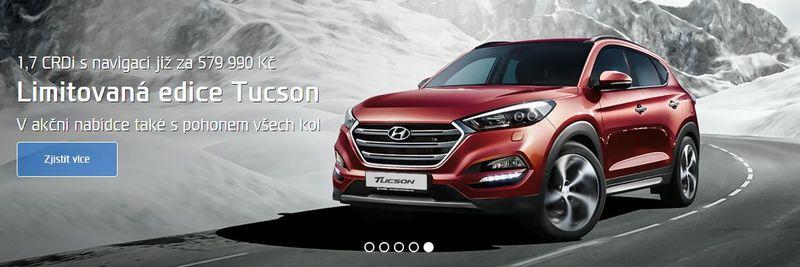 Hyundai Plzeň edice Tucson