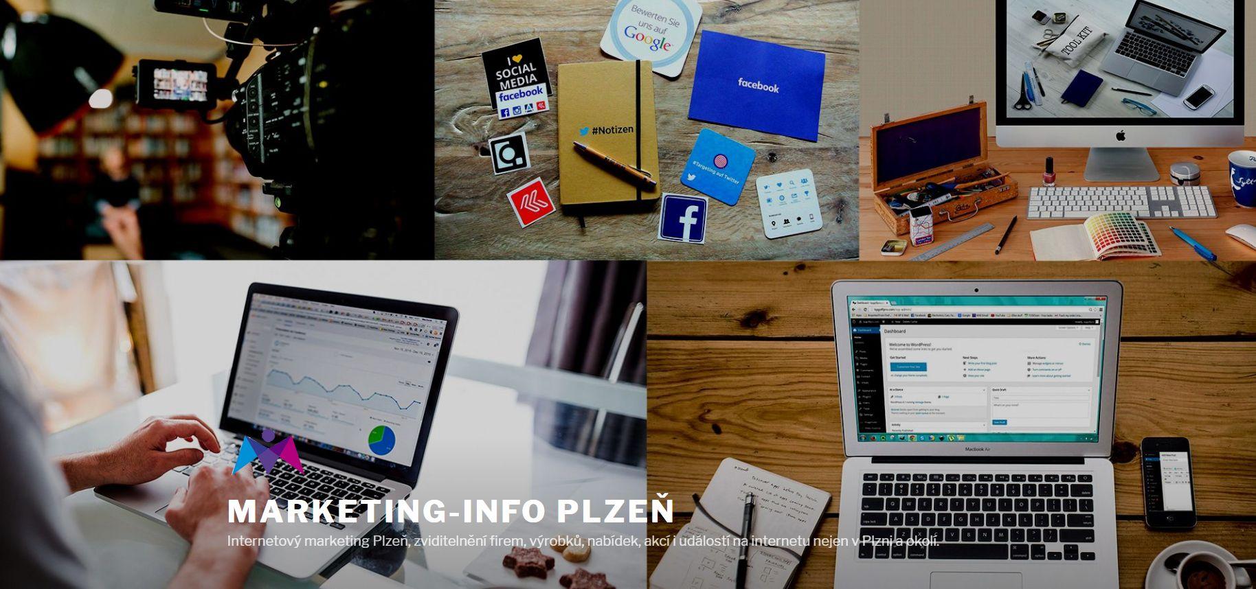 Internetový marketing Plzeň, zviditelnění firem, výrobků, nabídek, akcí i událostí na internetu nejen v Plzni a okolí