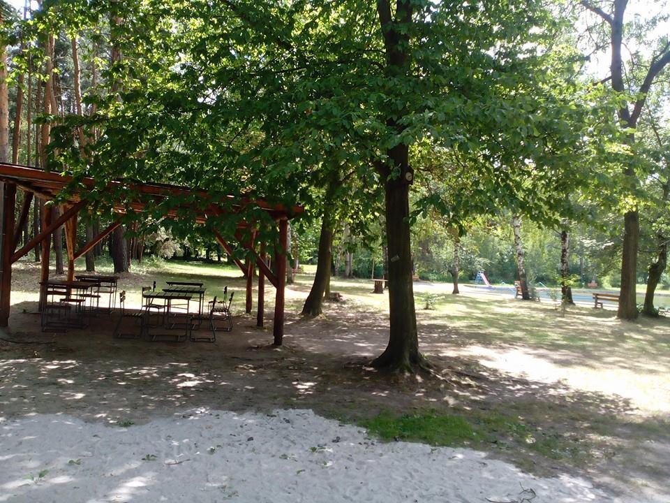 Plzeň - koupaliště Líně