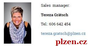 SVATEBNÍ události a akce v Plzni: sales manager Tereza Grätsch