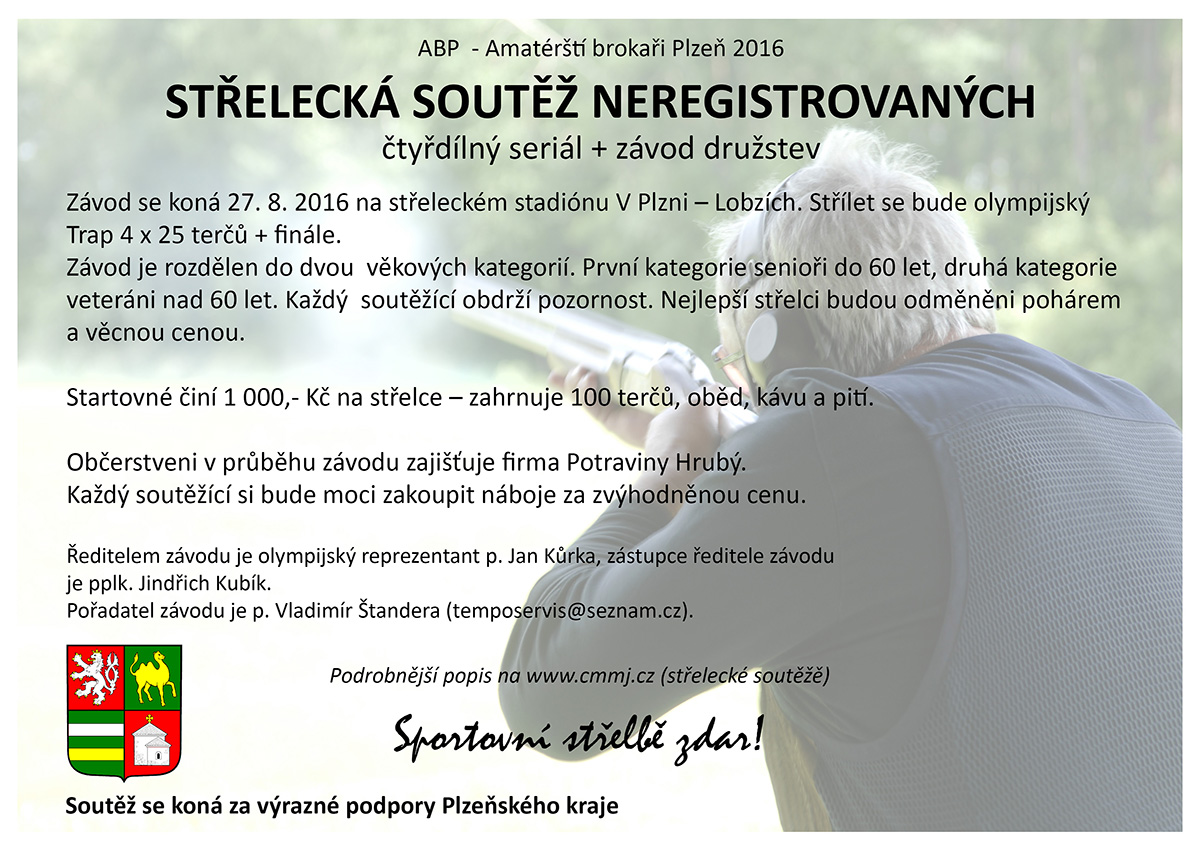 Brokaři Plzeň - broková střelba