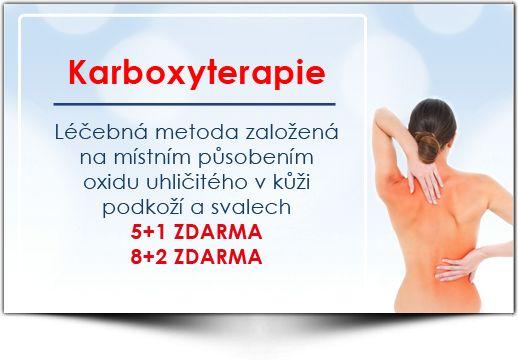 Karboxyterapie (plynové injekce)