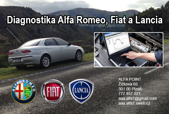 diagnostika Alfa Romeo Plzeň