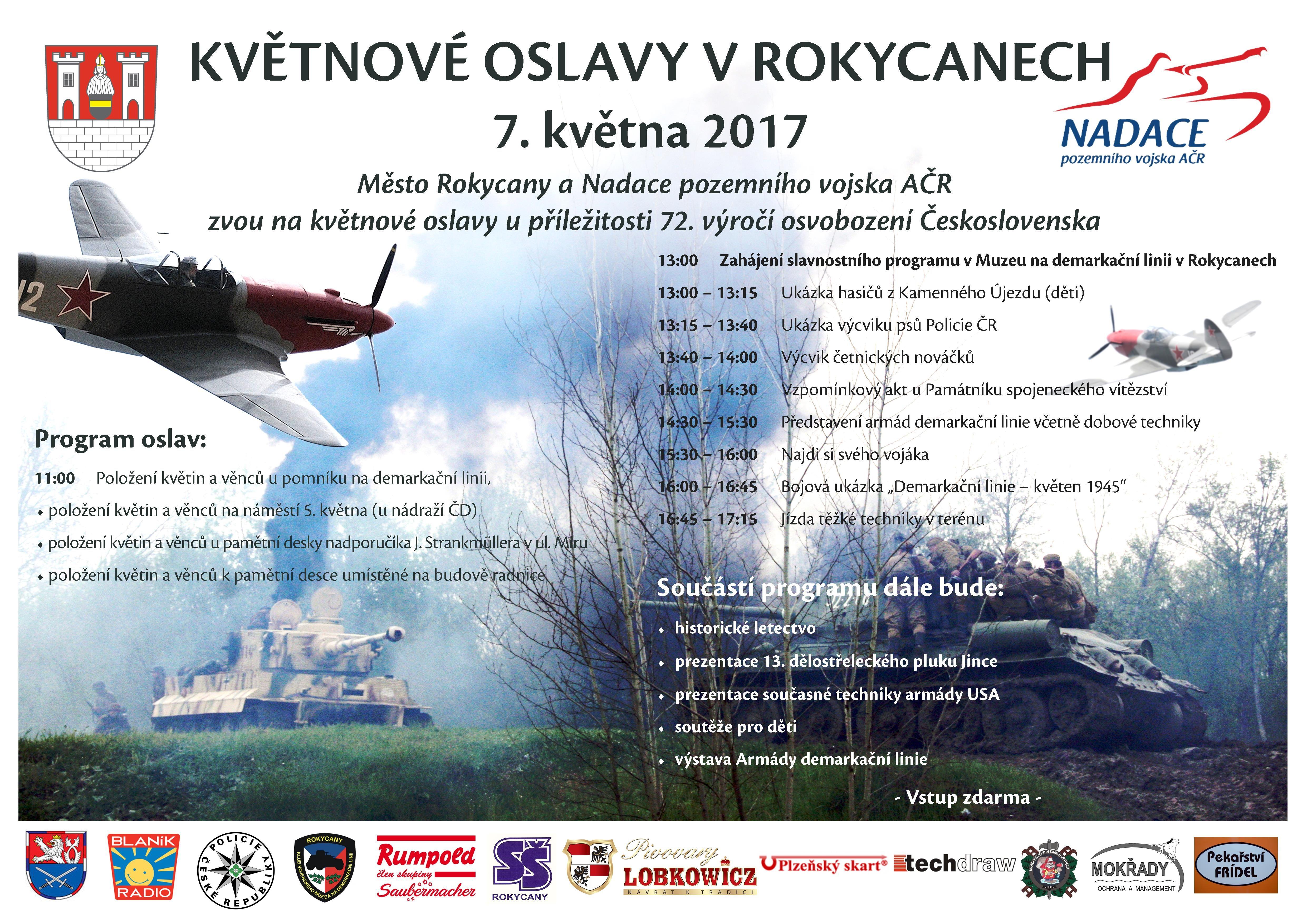 Slavnosti svobody - OSLAVY osvobození PLZEŇ 2017