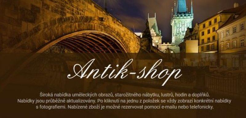 Antik-shop Praha - prodej starožitností - e-shop