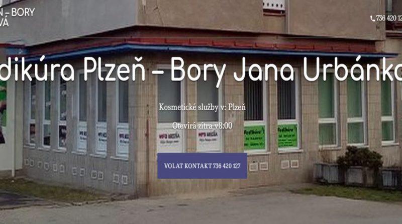Pedikúra-Plzeň-Bory