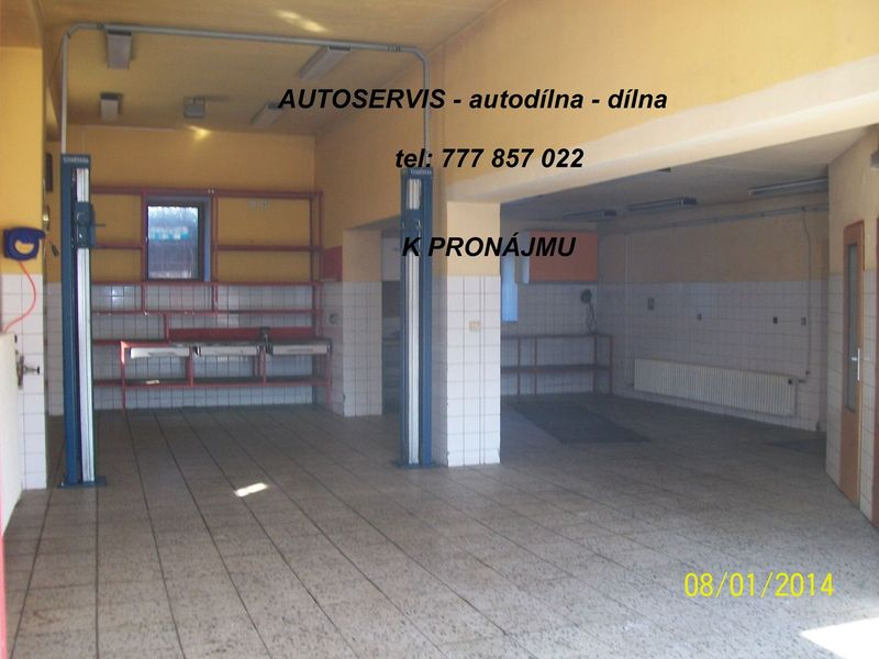 Pronajmu autoservis v Plzni - autodílna Plzeň jih
