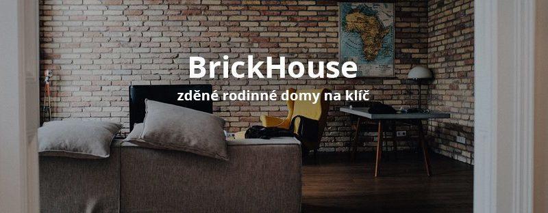 Zděné rodinné domy na klíč Brick House