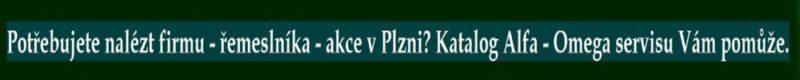 Katalog firem Plzeň - vyhledání firem v Plzni