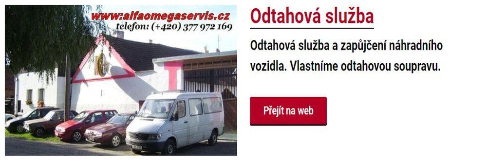 Odtahová služba autoservise Alfa Romeo Plzeň
