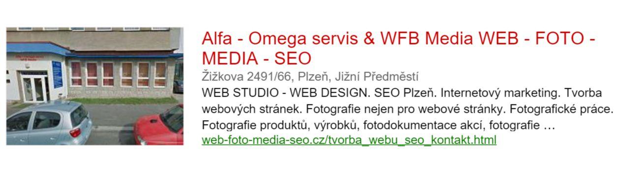 Alfa - Omega servis & WFB Media WEB - FOTO - MEDIA - SEO