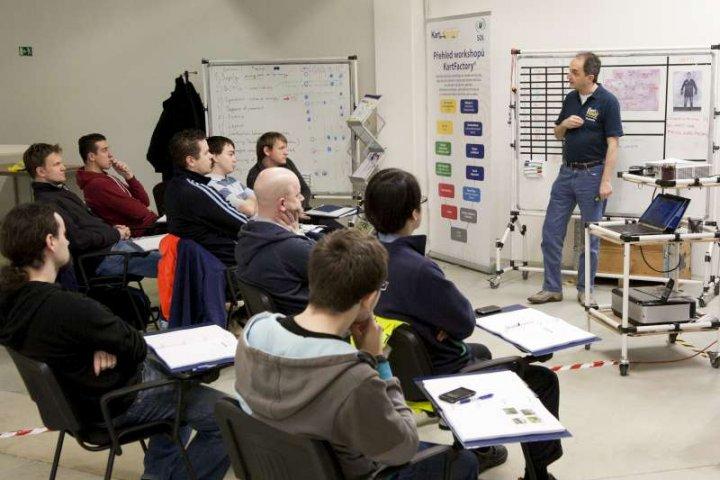 Vzdělávací workshop Plzeň Kart Factory
