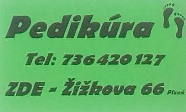 pedikúra Plzeň
