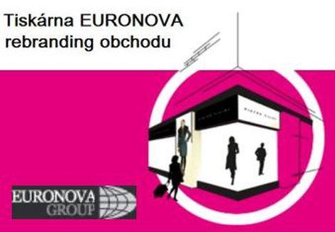 rebranding obchodu Plzeň