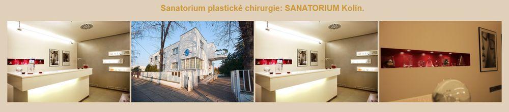 Sanatorium plastické chirurgie - SANATORIUM Kolín