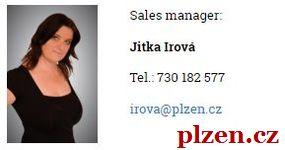 SVATEBNÍ události a akce v Plzni: sales manager Jitka Irová