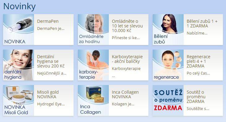 Medical Institut Plzeň - AKCE - NOVINKY