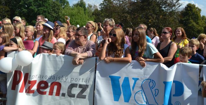 Léto v Plzni