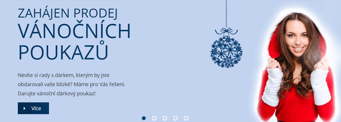 Dárkové vánoční poukazy na liposukci v Plzni