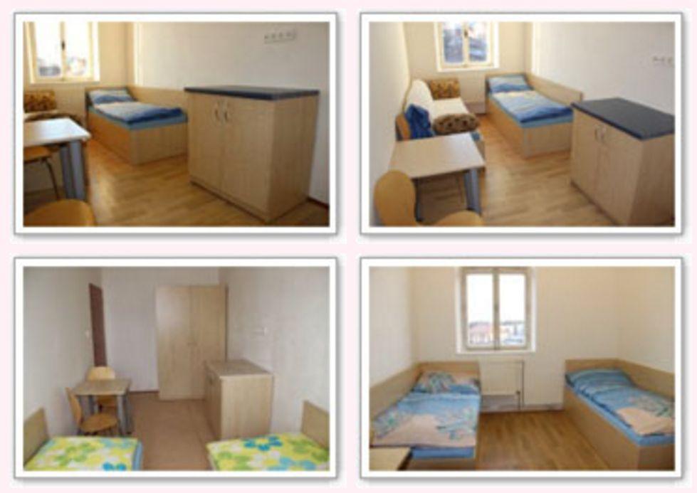Ubytovna nedaleko Plzně v Horní Bříze.