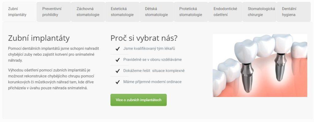 zubnzubní-klinika-Plzeňí-klinika-Plzeň