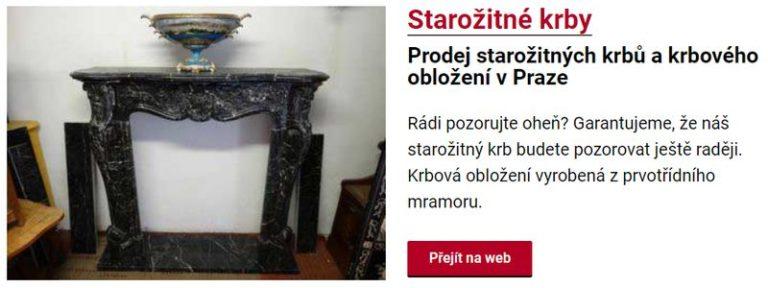 Prodej starožitných krbů