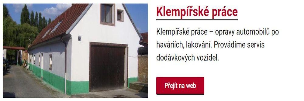 Auto klempířské práce ve Fiat servisu Plzeň