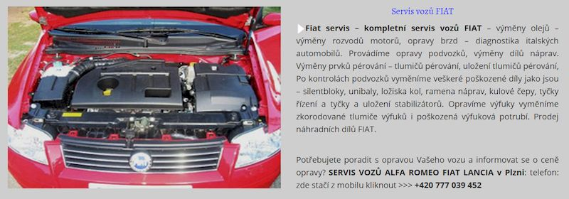 Diagnostika Alfa Romeo