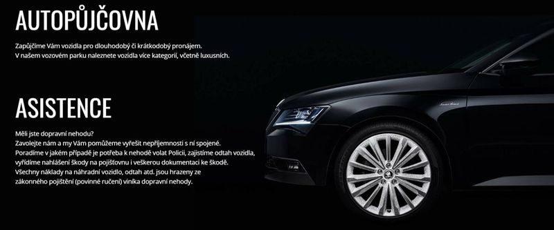 AUTOPŮJČOVNA Strakonice – půjčovna osobních automobilů Diviš