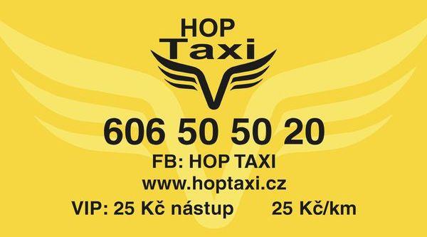 HOP Taxi Plzeň