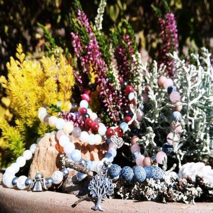 Prodej náramků z minerálních kamenů – E-shop HAROKA - náramky - ručně vyráběné náramky z minerálů Plzeň