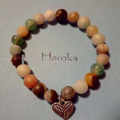 Prodej náramků z minerálních kamenů – E-shop HAROKA - prodej ručně vyráběných náramků z minerálů
