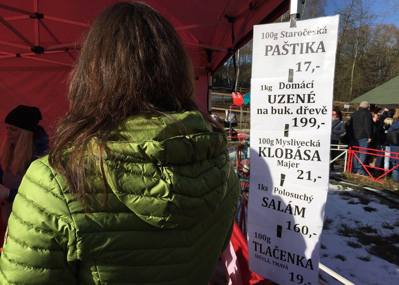 Vepřové hody na Šídlováku v Plzni