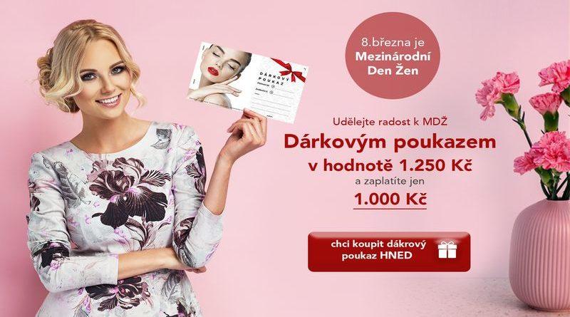Dárek pro ženy k MDŽ - Alfa-Omega-servis doporučuje darovat k MDŽ ženám dárek od Medical Institutu Plzeň