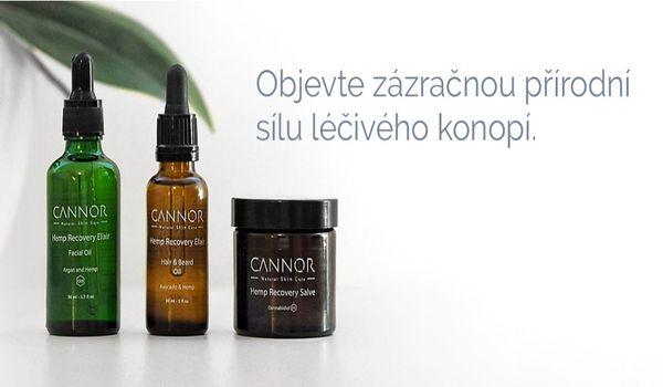 Léčivá přírodní kosmetika CANNOR – konopná kosmetika on-line - E-shop TREND