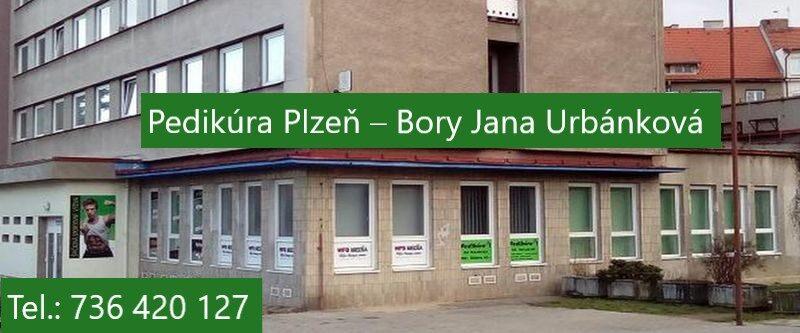 Pedikúra Plzeň Bory - Jana Urbánková