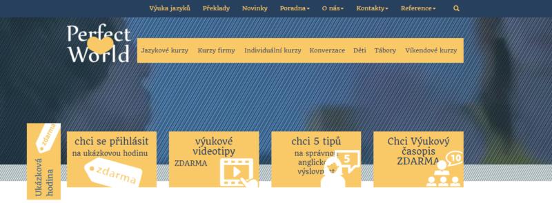 Jazyková škola Perfect World - výuka jazyků na nejvyšší úrovni v Plzni