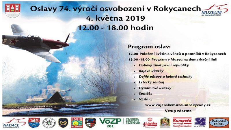 Oslavy osvobození Plzeň 2019