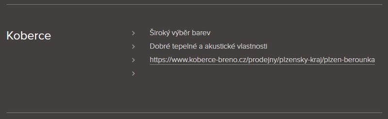 Podlahářství BOHEMIA Jiří Hochman - Koberce