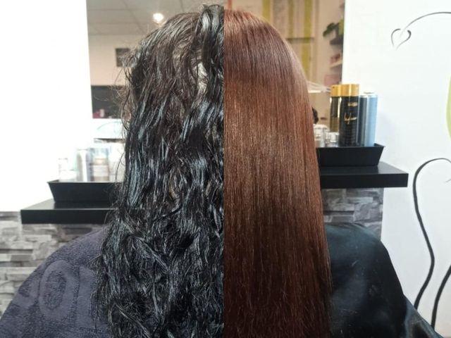 Kadeřnictví Plzeň Bory - FATAL hair and nails - stahování černé barvy