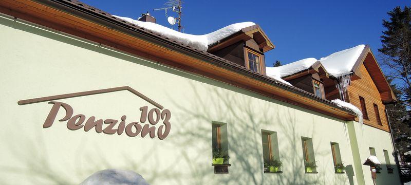 Penzion 103 - levné ubytování v Železné Rudě